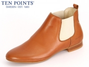 Ten Points Toulouse 233 007-319 cognac Leather