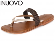 Inuovo 7708 brown gold Leder