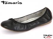 Tamaris 1-22129-28-007 black uni Leder Synthetik