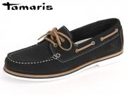 Tamaris 1-23616-28-827 navy Nubuk