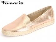 Tamaris 1-24644-28-952 rose metallic Leder