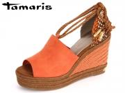 Tamaris 1-28312-28-608 orange combi Textil