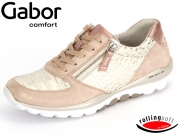 Gabor Rolling soft 66.968-18 rose rame Kroko Caruso Perlato