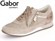 Gabor York 66.345-14 argento ko Glamour HT Samt