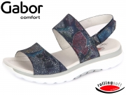 Gabor Rolling Soft 66.914-86 river Fog Flower