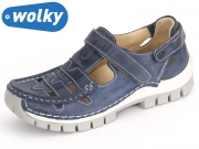 Wolky Move 4703387 blue Summer Tucano Leather