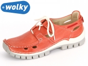 Wolky Seamy go 4707 357 red summer Tucano Leather