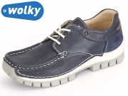 Wolky Fly 4701 787 blue leo summer Leoa Leather