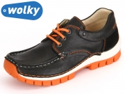 Wolky Fly 4701 705 black orange Leoa Leather