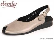 Semler Nora N1805-031-005 asphalt Metall Velour