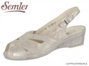 Semler Lissy L2582-031-028 panna Metall Velour