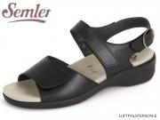 Semler Heike H1115-012-001 schwarz Soft Nappa