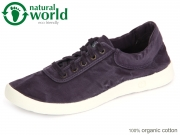 natural world 3301E-635 navy Baumwolle
