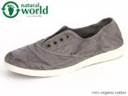 natural world 612-623E gris enz Baumwolle