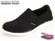 Skechers Equalizer 51361-BKW black
