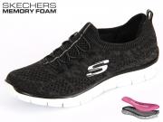 Skechers Empire 12418-BKW black grey Textil