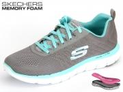 Skechers Flex Appeal 2,0 12757-GYLB grey blue Textil