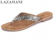 Lazamani 75.336 pewter Leder
