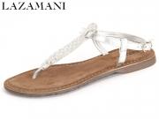 Lazamani 75.382 silver Leder