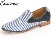 Charme Charme 2861E 2861E-17 blau kombi Leder