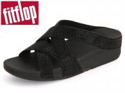 fitflop Slinky Rokkit C90-090 all black Mikrofaser