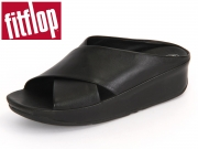 fitflop Kys Slide E29-090 all black Leder
