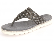 Julia Grey Cute 804 light grey Kid Suede