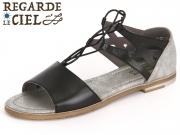 Regarde Le Ciel Adele 23 2292 black grey glove metal