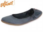 Softinos ONA 900380000 navy washed Washed Leather
