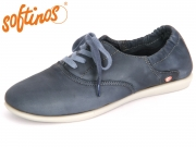 Softinos VER 900362002 navy Washed Leather