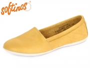 Softinos OLU 900382005 yellow Washed Leather