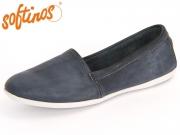 Softinos OLU 900382000 navy Washed Leather