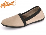 Softinos OBA 900373005 taupe Smooth Leather