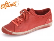 Softinos ISLA 900154527 red Washed Leather