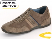 camel active Space 137.27.03 brown peat Vintage PU Suede