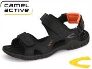 camel active Ocean 422.11.06 black orange Nappa PU Lycra