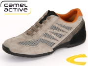camel active Space 137.29.02 grey- light kombi grey Suede- Sandwich Mesh kombi
