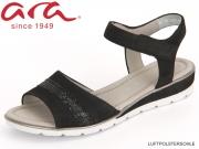 ARA Alassio 12-33526-01 schwarz Nubuk Heaven