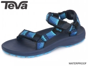 Teva Hurricane 2 C 8911-436 8912-436 peaks bright blue green