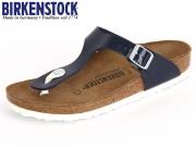 Birkenstock Gizeh 1005301 dress blue Patent Birkoflor