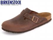 Birkenstock Boston BS 860133 habana Fettleder