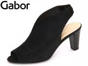 Gabor 61.830-17 schwarz Samtchevreau