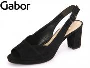 Gabor 61.701-17 schwarz Samtchevreau