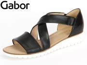 Gabor 64.572-27 schwarz Foulardcalf