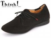 Think! Wunda 80058-00 schwarz Calf Nubuk