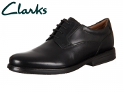 Clarks Hopton Walk Black 261192937 black Leather