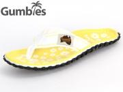 Gumbies GUMBIES Australian Shoes GUMBIES white daisy