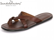The sandals factory 5003 marone Leder