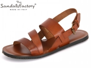The sandals factory 5876 cuoio Leder