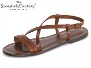 The sandals factory 6105 testa di moro Vacchetta